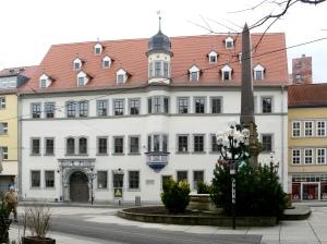 Haus Dacheröden in Erfurt, das heute als Kulturforum genutzt wird (Foto: Andreas Praefcke 2009)