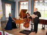 Kammerkonzert, gespielt auf historischen Instrumenten