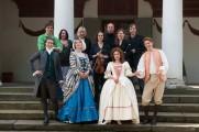 """Ensemble von """"Erwin und Elmire"""" (©Foto: Maik Schuck)"""