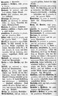 1872 - Die deutsche Rechtschreibung - Wörterverzeichnis - Obere Klassen