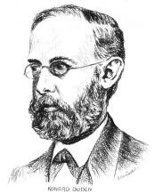 Konrad Duden zu seiner Schleizer Zeit (Zeichnung: Arthur Viertel)