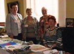 Mitarbeiter der Mundartgruppe zur Ausstellung im Schlossmuseum Meiningen (2011). Foto: Christel Siegmund