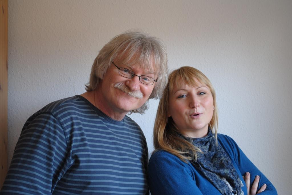 Ulf Annel und seine Tochter Juliane